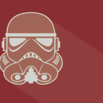 Flat Icon: Classic Star Wars