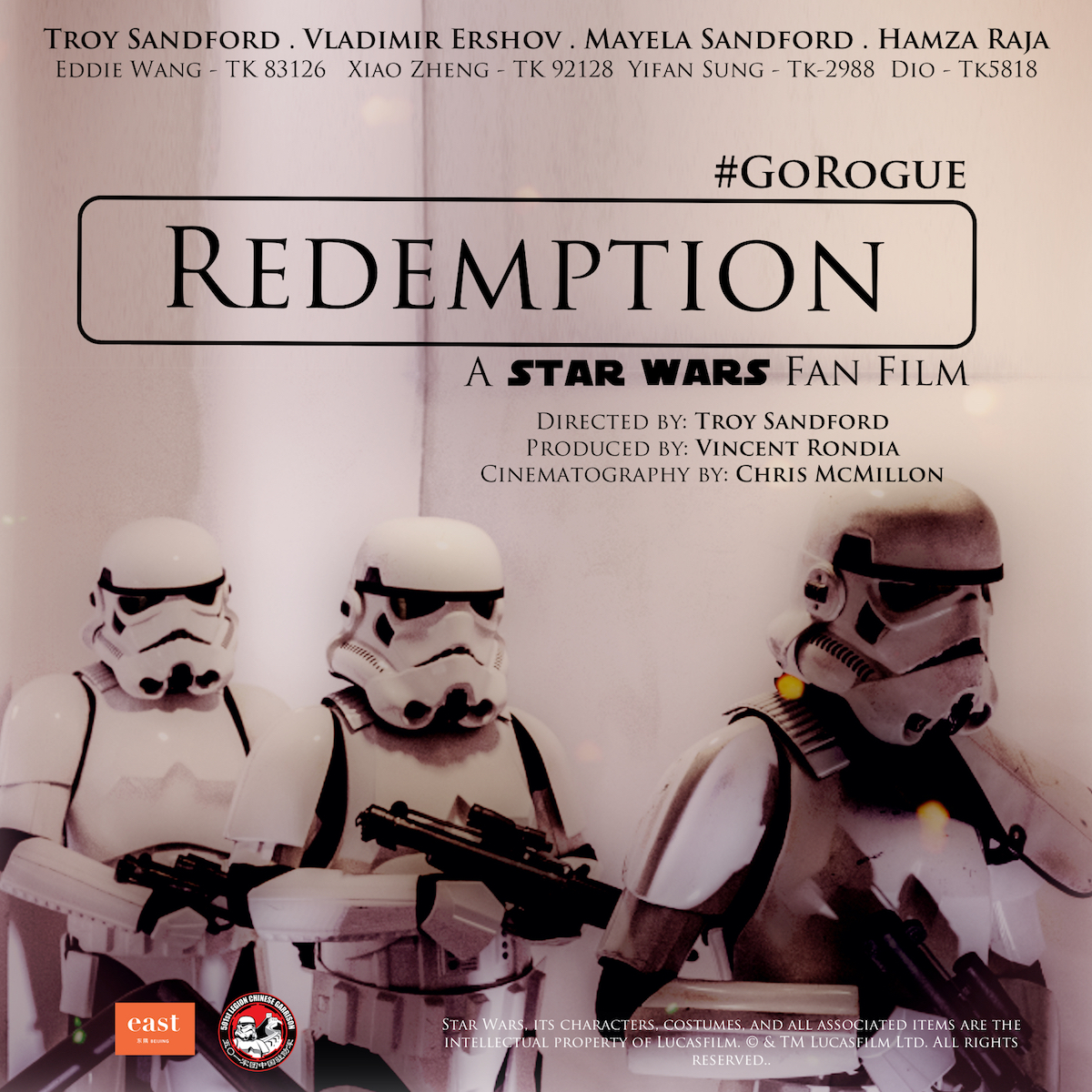 """Redemption"" fan film…"
