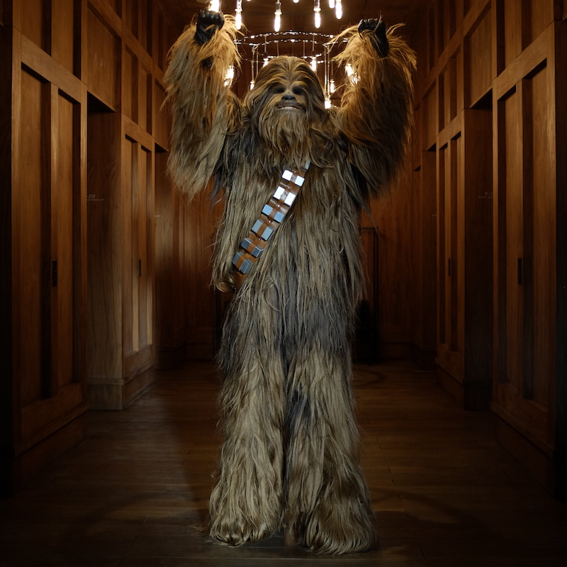 The Wookiee is out!!!