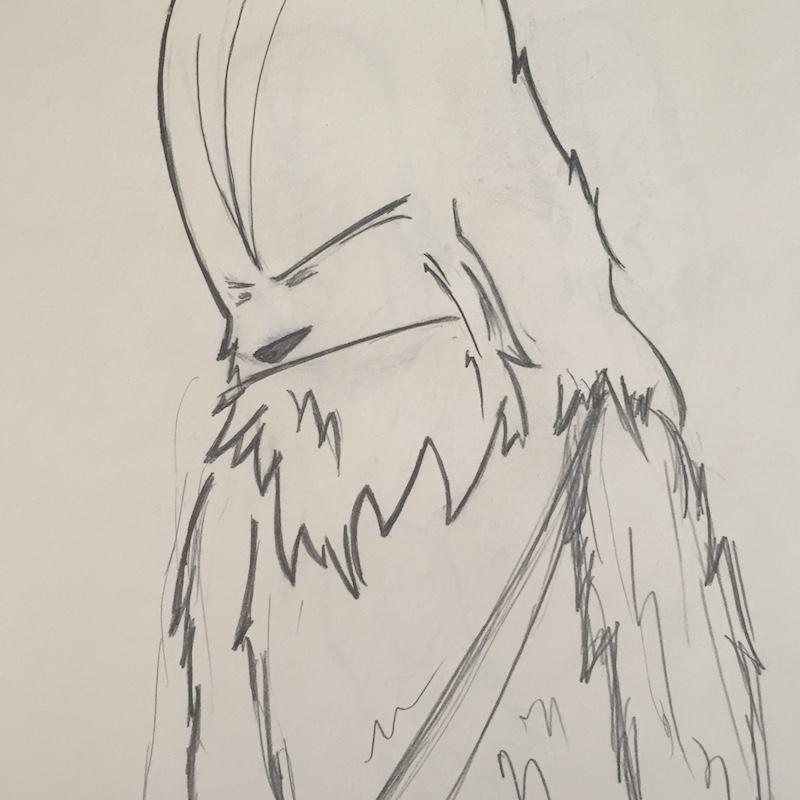 Wookiee Draws