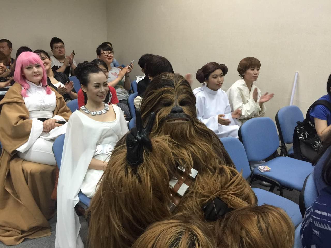 Beijing ComicCon: Chewbacca