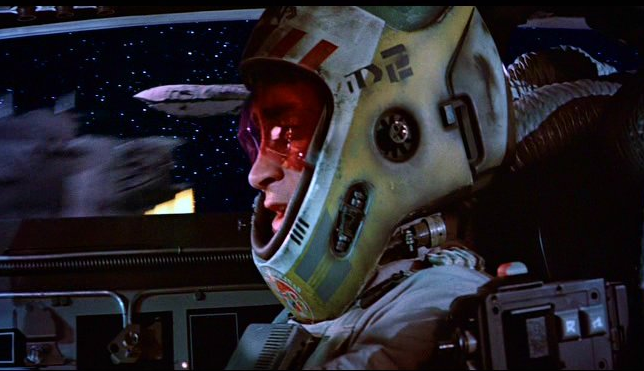 Y-wing Rebel fighter Pilot helmet