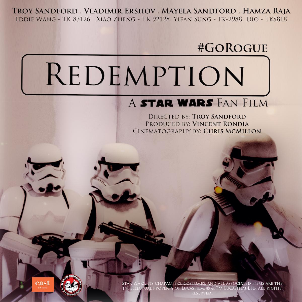 """""""Redemption"""" fan film…"""