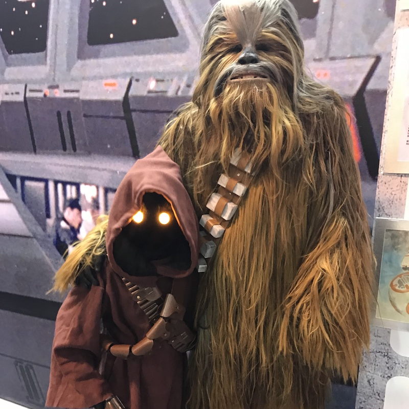 Wookiee Business At SHCC2017